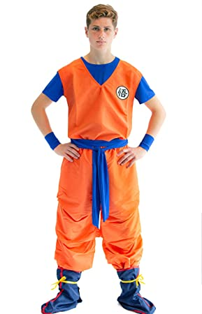 CoolChange Traje Cosplay de Son Goku, tamaño: L