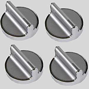 Tuuliv W10594481 Knob for Whirlpool Stove/Range 4 Pack