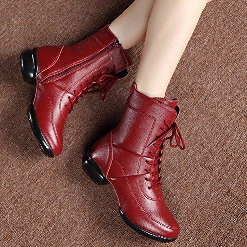 Femme Bordeaux Rouge 36 Montants HiTime 5 aYSxqfp