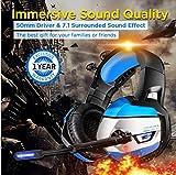 ONIKUMA Gaming Headset - Gaming Headphone for