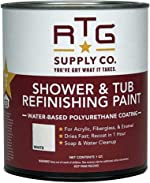 RTG Supply Co. Shower & Tub Refinishing Paint (White)