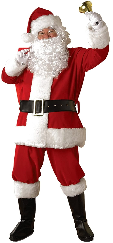 Rubie's Regal Plush Santa Suit Rubies Costumes - Apparel 077-23330-$P
