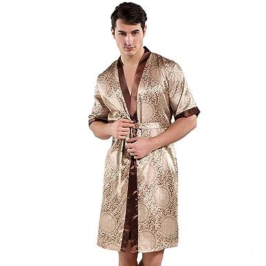 hhalibaba Traje de baño de Kimono para Hombre Impreso a Mano ...