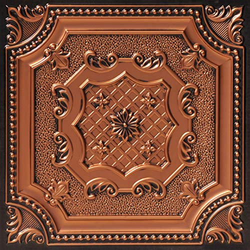From Plain To Beautiful In Hours 258ac-24x24 Ceiling Tile Antique Copper