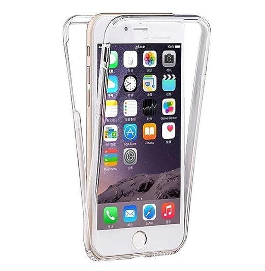 57 opinioni per Custodia Per iPhone 7 Plus, Hippolo Ultra Sottile 360° Full Body TPU Silicone
