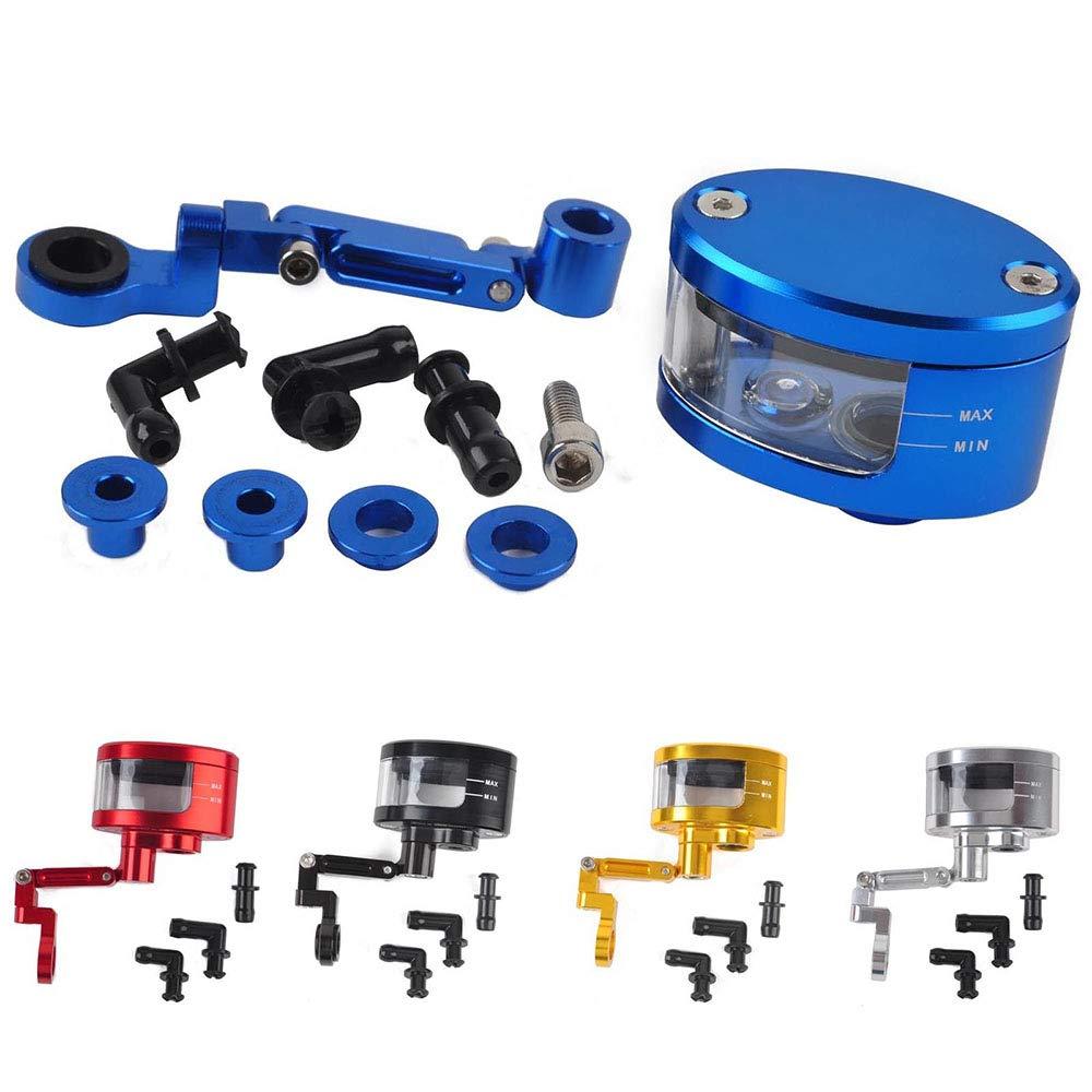 CNC-Motorrad-Bremskupplungs-Hauptzylinder-Flü ssigkeitsbehä lter-Ö lbehä lter (Farbe : Schwarz) dsiaswa