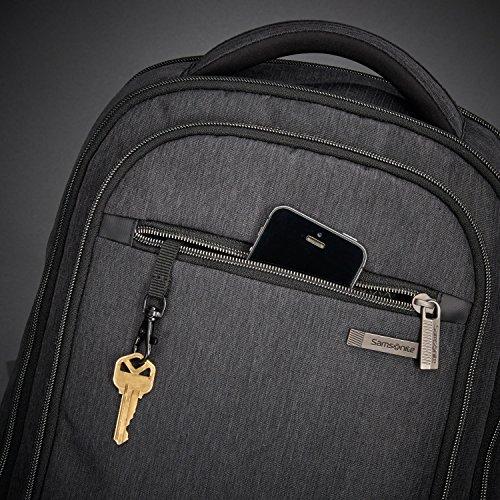 61KLHGOaYkL - Samsonite Modern Utility Mini Laptop Backpack, Charcoal Heather, One Size