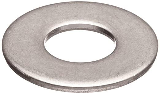 11//16 ID 5//8 Hole Size 0.075 Nominal Thickness 316 Stainless Steel Flat Washer Plain Finish Pack of 10 1-1//2 OD