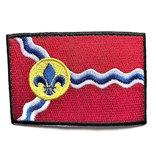 City of St. Louis Flag Patch/Cities of Missouri Sew-On Patch Collection (Saint Louis MO, 2