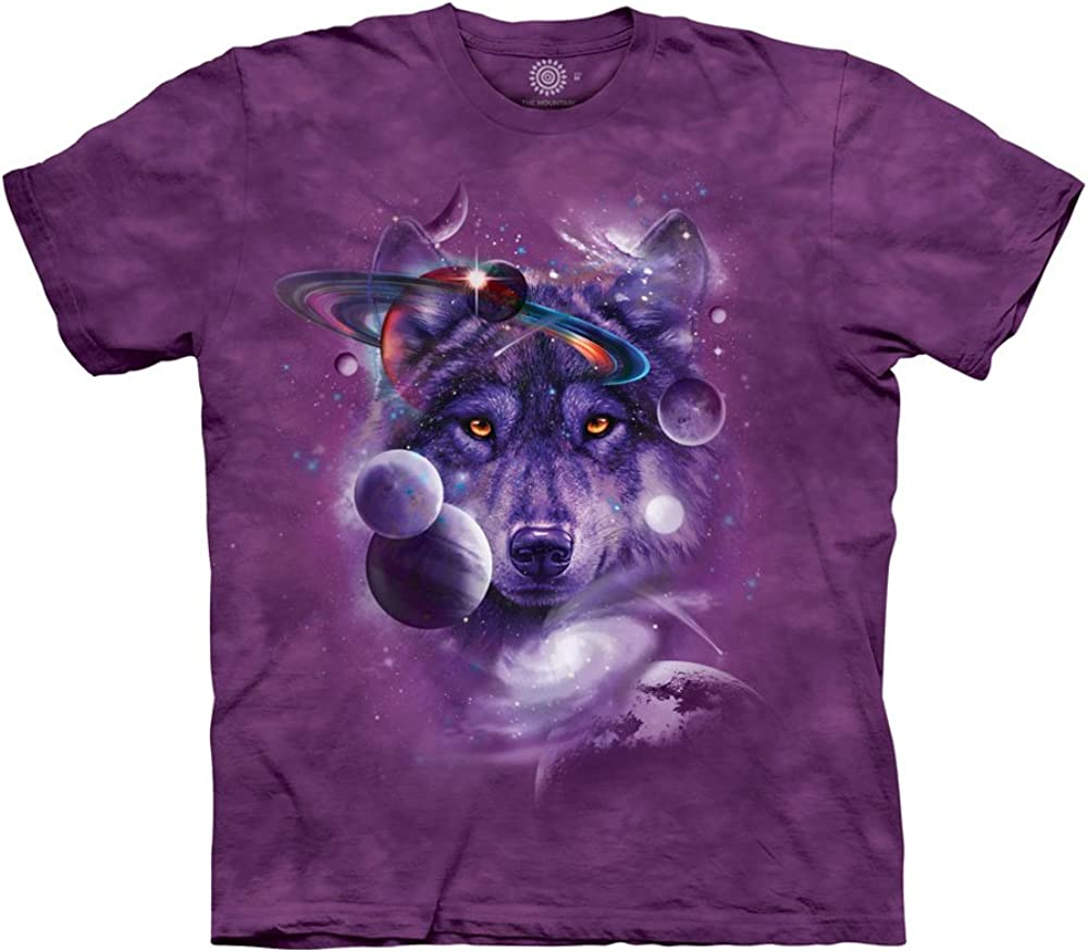 The Mountain Wolf of The Cosmos T-Shirt