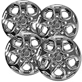 envoy hubcap - Hubcaps for 17 inch Standard Steel Wheels (Pack of 4) Wheel Covers - Snap On, Chrome