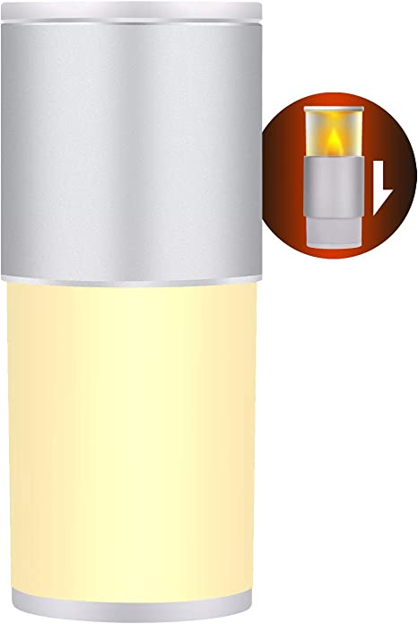 LED Warm White Night Light RGB Nightlight Bedside Table Touch Lamp Rechargeable
