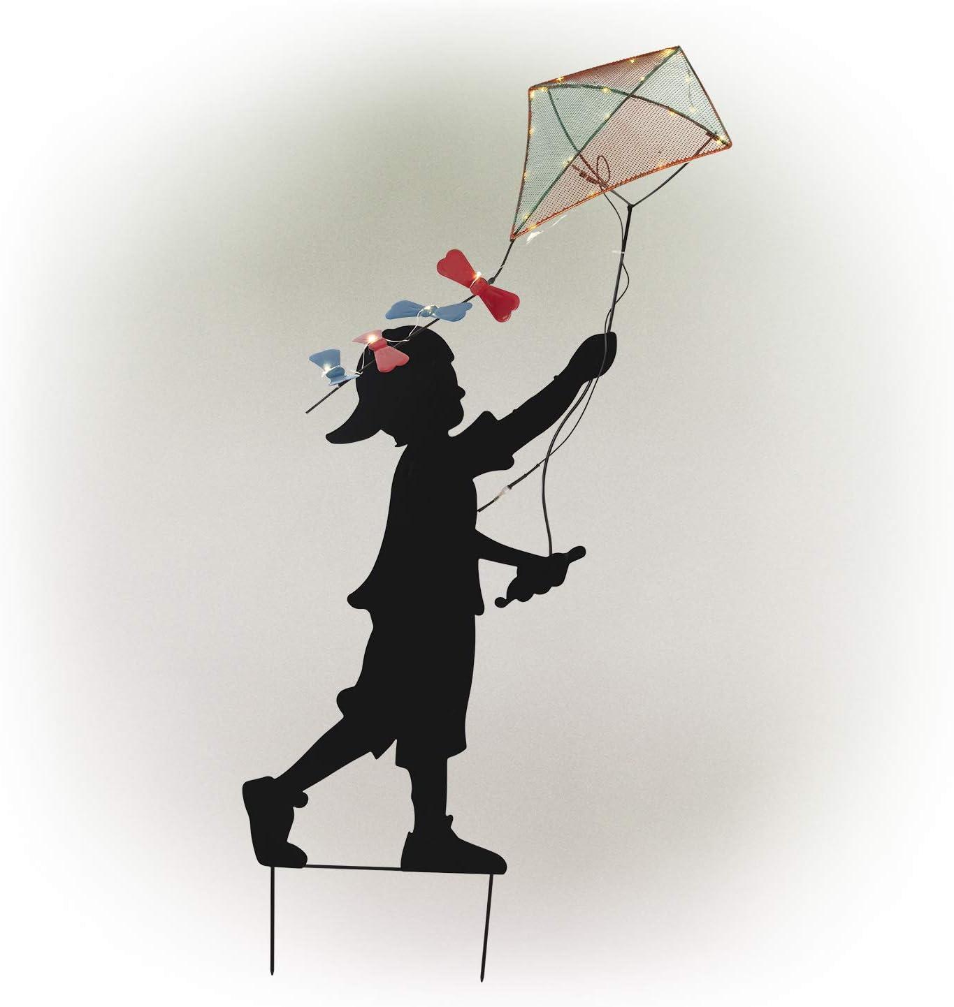 Amazon Com Alpine Corporation Solar Boy Silhouette Flying Kite Decor With Led Lights Outdoor Yard Art Decor 33 X 9 X 41 Garden Outdoor 4,000+ vectors, stock photos & psd files. alpine corporation solar boy silhouette flying kite decor with led lights outdoor yard art decor 33 x 9 x 41