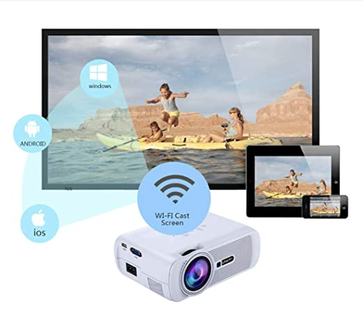 Touyingyi U80 Plus Android 6,0 Android 6,0 Smart Projector ...