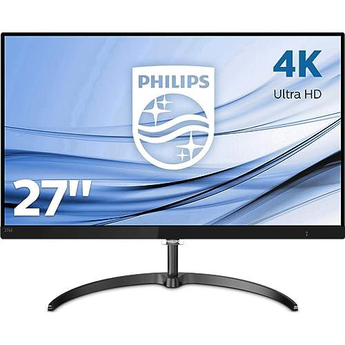 Philips 276E8VJSB Monitor de 27 UHD 4K resolución 3840 x 2160 FlickerFree LowBlue Mode 5ms IPS HDMI Displayport