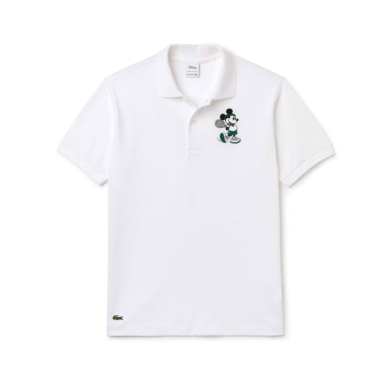 OTO-MOTO T-Shirt FR Logo Polo Collier Logo Broderie Embroidery EMBROID/É BROD/É Collar Noir en Coton Peign/é