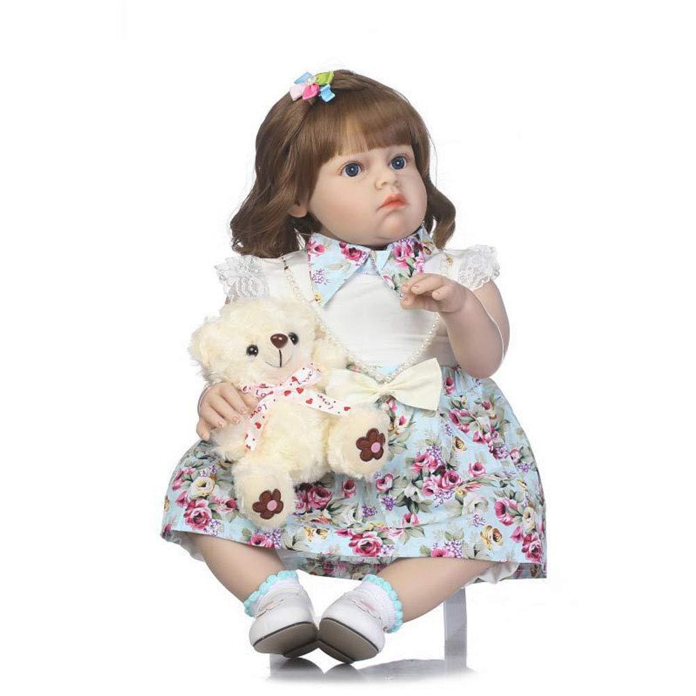 CHENG Silicone Corpo a 27 Pollici per Bambole del Bambino rinato con Regalo di Natale per Il Compleanno del Giocattolo del Giocattolo del Bambino