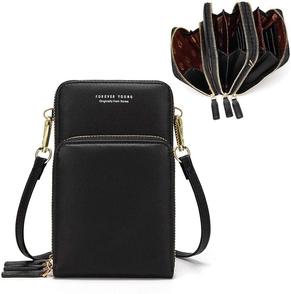 Mobile Phone Pouch Case Belt Handbag Cross Body Work Shoulder Bag Purse Wallet