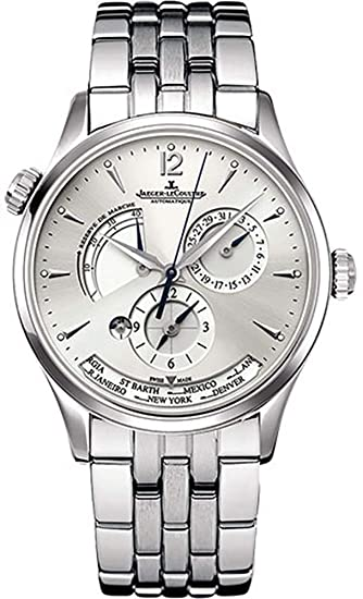 Jaeger LeCoultre Maestro Geográfica q1428121 reloj para hombre