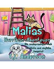 Malias Hurrikan-Abenteuer [Malia's Hurricane Adventure]: Ein zweisprachiges Buch: deutsche und englische Ausgabe) [A Dual Language Book: German and English Edition)