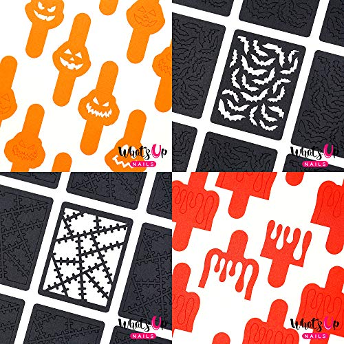 Halloween 4 pack (Bats, Pumpkin Faces, Monster Blanket,
