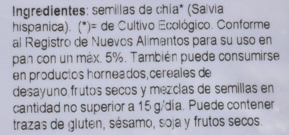 SEMILLAS DE CHIA BIO 500 gr: Amazon.es: Alimentación y bebidas