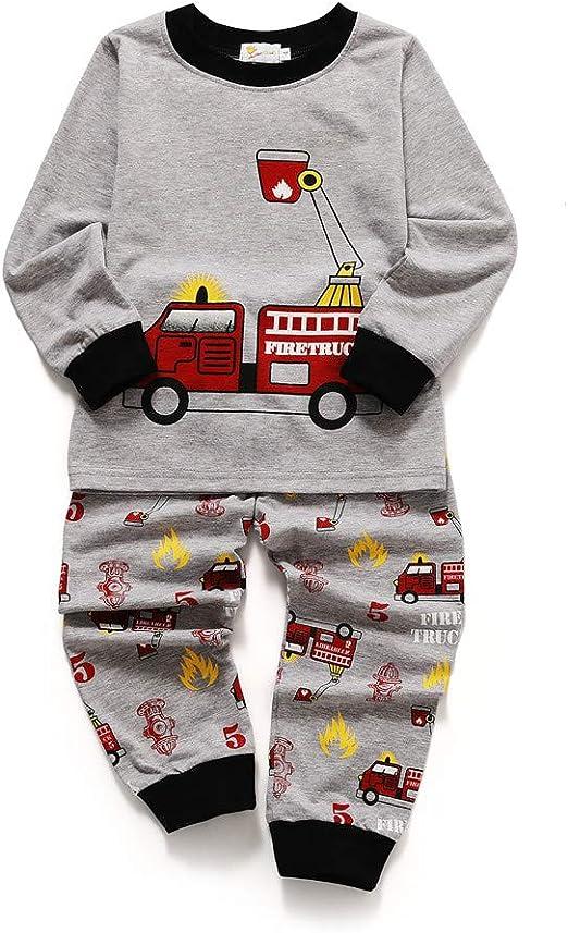 Zhongsufei-CH Conjuntos de Pijamas para niños Ropa Interior de ...