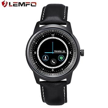 LEMFO LEM1 Podómetro Bluetooth Reloj de Pulsera Sincronización Agenda para iOS para Android (Color: