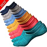 Image of M&Z Men's No Show Sock Anti-slid Athletic Cotton Socks Fit All Seasons 3/6 pack