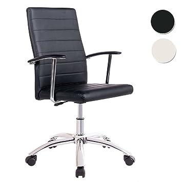 Silla Modelo Look Escritorio – Sedutahome Para Color Negro Despacho Base Ruedas De Y6ybgf7