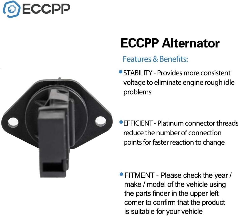 ECCPP Mass Air Flow Sensor Meter Hot Wire Sensor AFM MAF for Infiniti G20 2.0L I30 3.0L Nissan Maxima 3.0L Sentra 2.0L 2000 2001