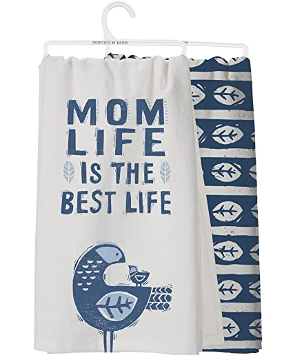 Mom Life Is The Best Kitchen Towels Set Of 2