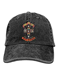 Guns N Roses Appetite For Destruction Cross Adult Fashion Cowboy Hat