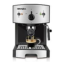 Mini Moka CM-1675 - Cafetera espresso, 15 bar, 1050 W, 1,25 l