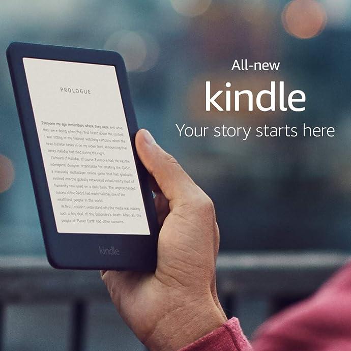 Kindle 全新6″电子阅读器 国际版 内置阅读灯 4GB 7.7折$84.99 海淘转运到手约¥610