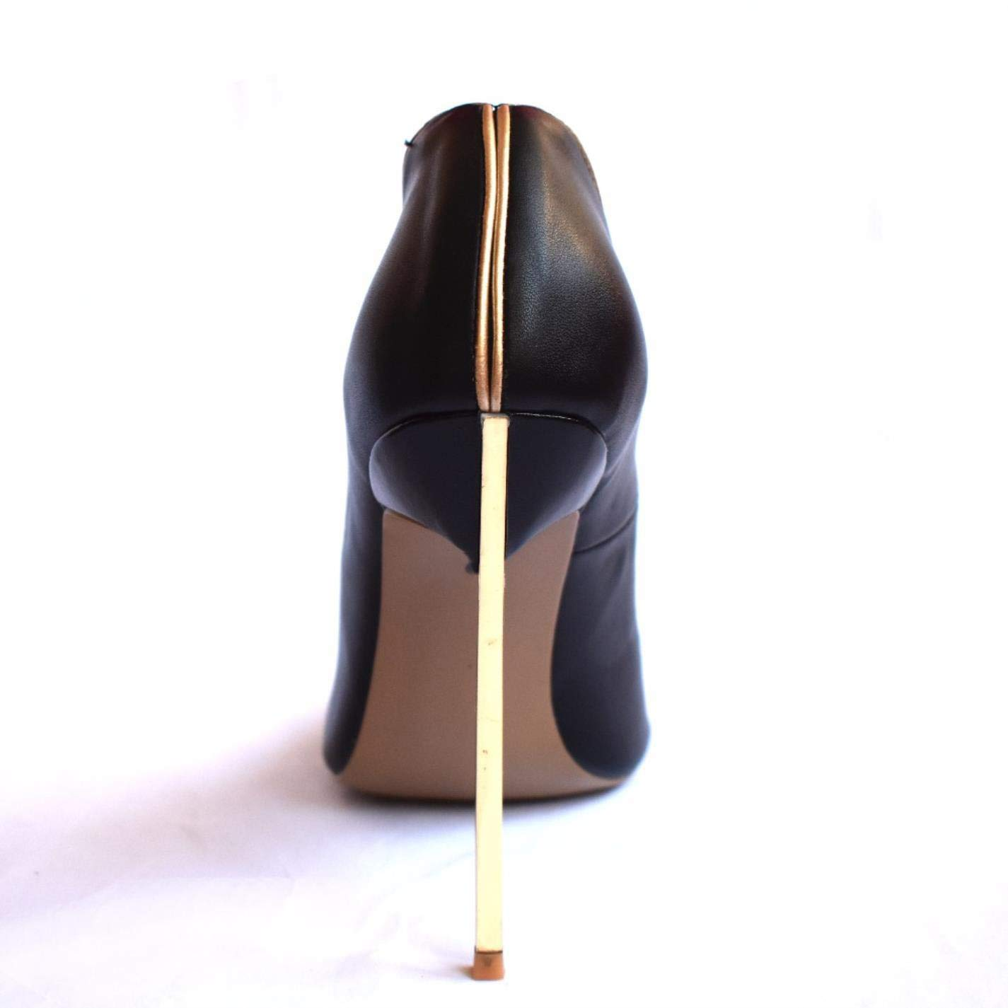 High Heels Pumps Leather Dress Shoes For Women 12cm Stiletto
