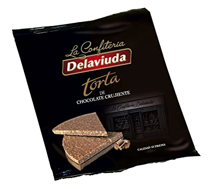 Delaviuda - Torta Chocolate Crujiente, 150 g