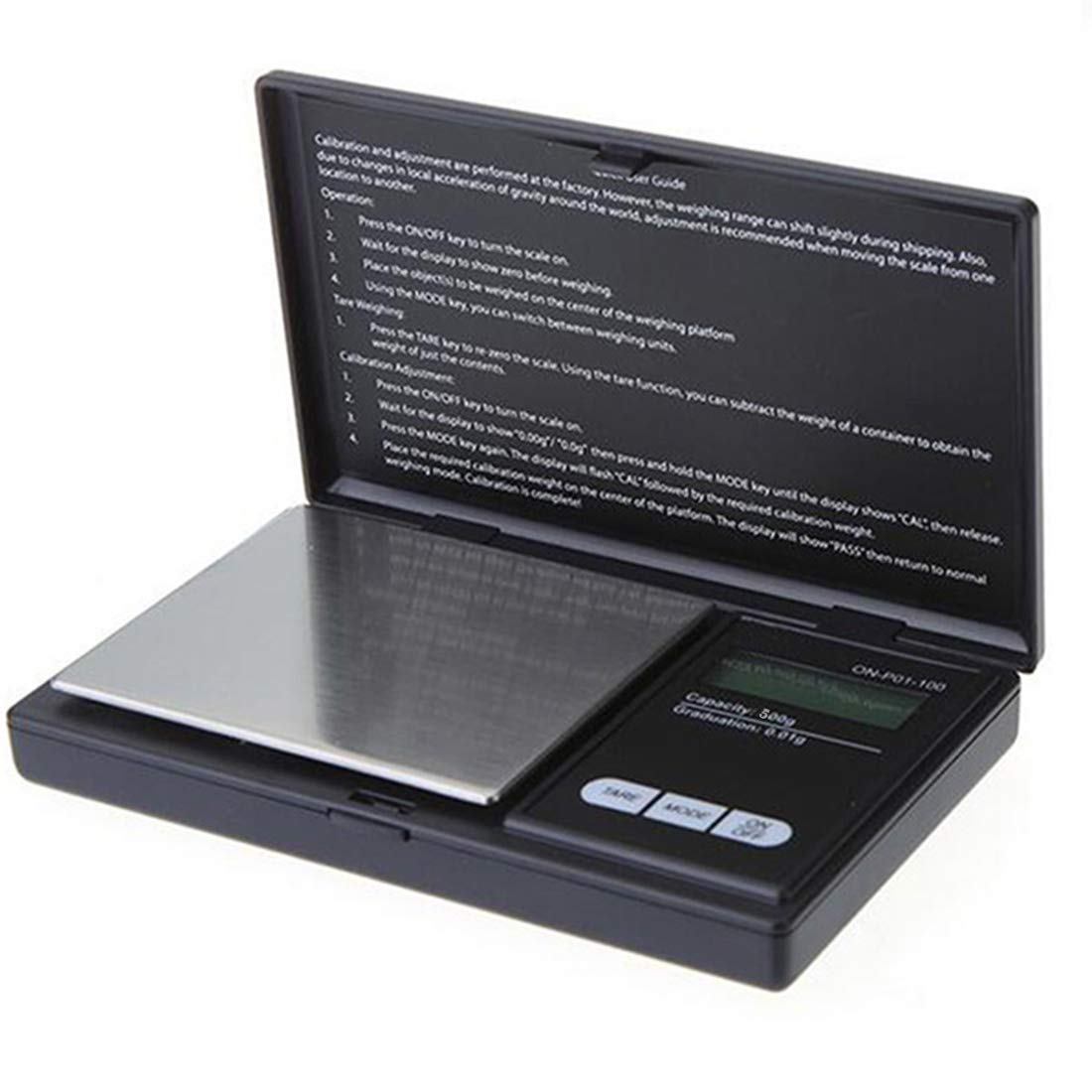 200g/0.01g Mini Digital Pocket Precision Scale Jewelry Scale Electronic LCD Scale Clamshell NoyoKere