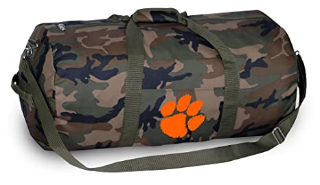 64750143ab Image Unavailable. Image not available for. Color  Broad Bay Clemson Tigers  CAMO Duffle Bag ...