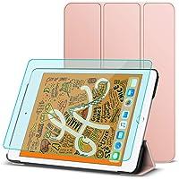 Pengpower Funda para iPad Mini 5 2019 /Mini 4 2015 y Protector de Pantalla para iPad Mini 5 /Mini 4(7.9, Rosa)