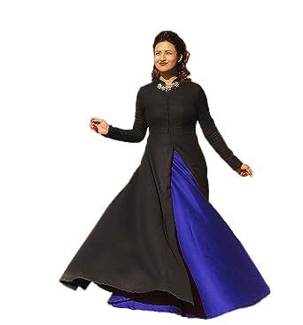 756e6ce9b036 Shlok Enterprise Cotton Silk Gown (Gown_Royal Blue_Free Size ...