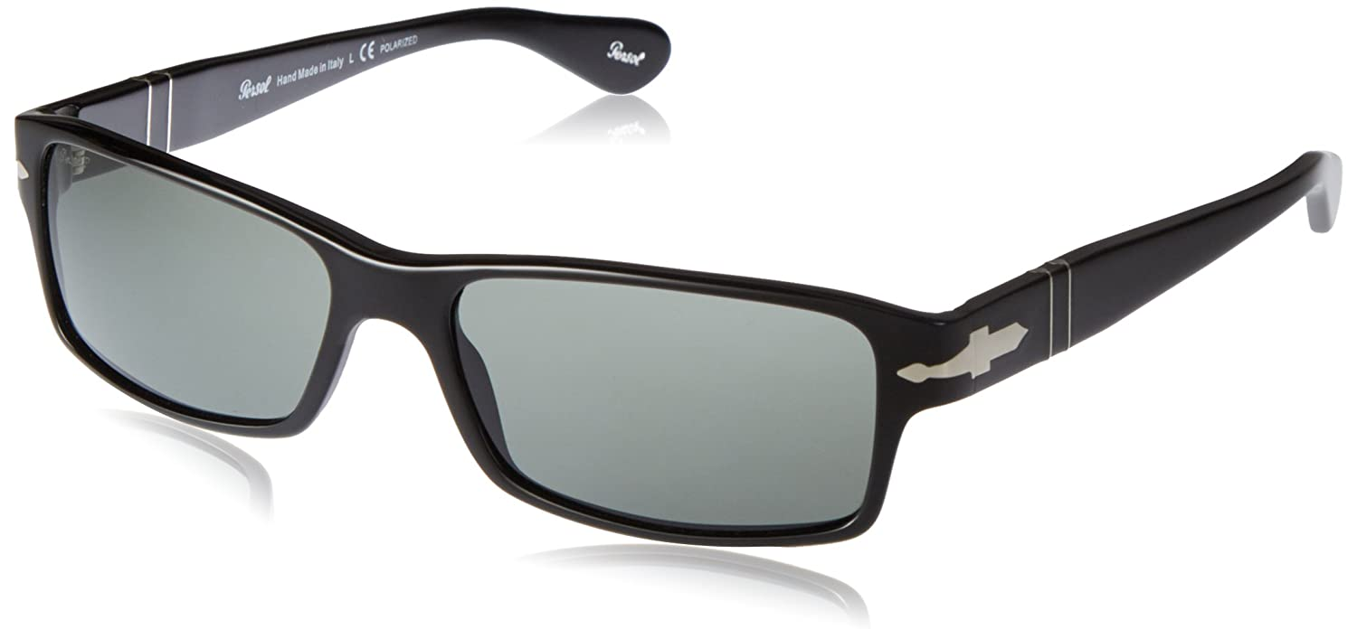 8619fc5a0dc0 Persol PO2747S Sunglasses-95/48 Black (Crystal Green Polarized Lens)-57mm:  Amazon.in: Clothing & Accessories