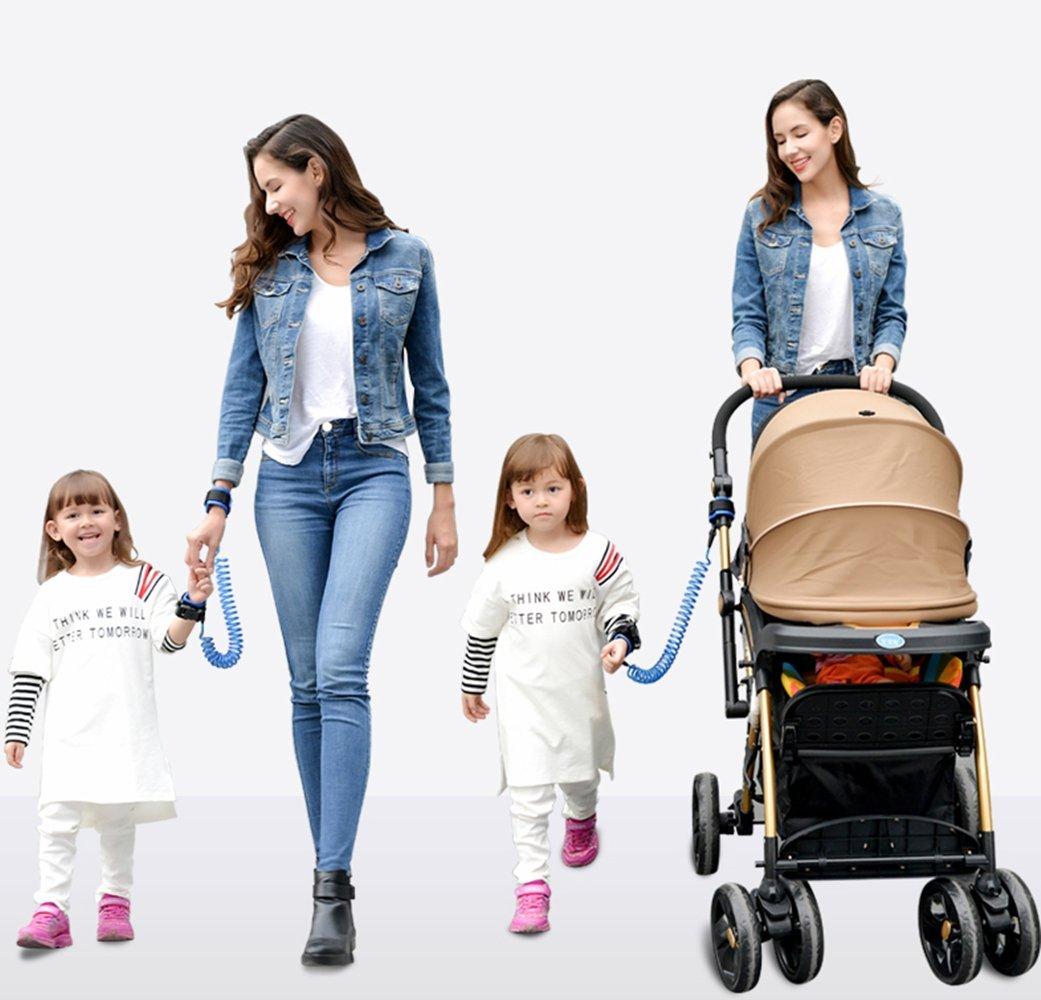 Kinder-Sicherheitsleine für das Handgelenk 1,5 m lang Emwel verstellbar...