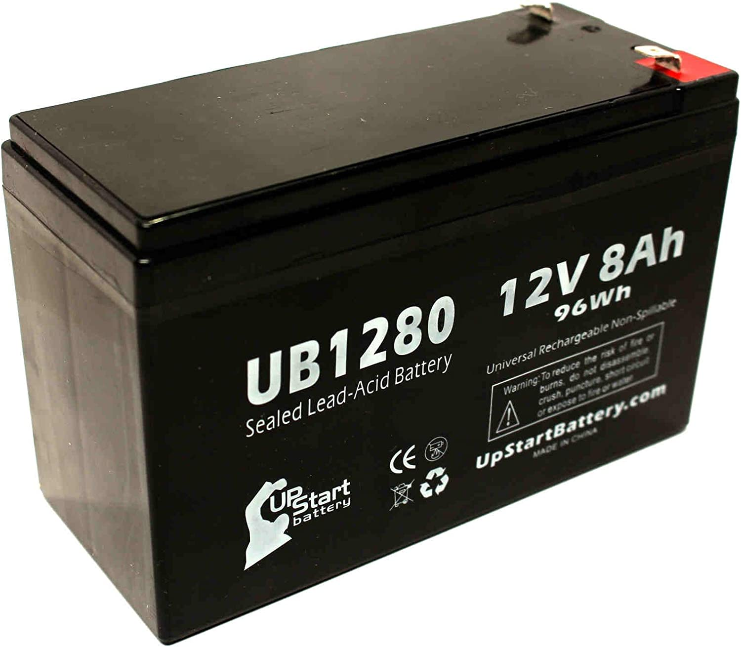 12V 7Ah with F1 Terminal Altronix AL600ULX SLA Replacement Battery Set