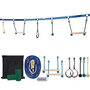Juup Backyard Ninja Line - Kit de Cuerdas para Colgar ...