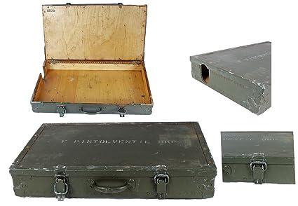 Mango estuche de madera caja de transporte S24 verde de ...