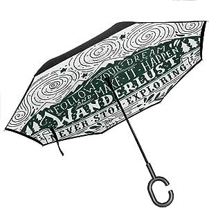 Amazon.com: C-Handle Parasol Folding Adventure,Journey and ...