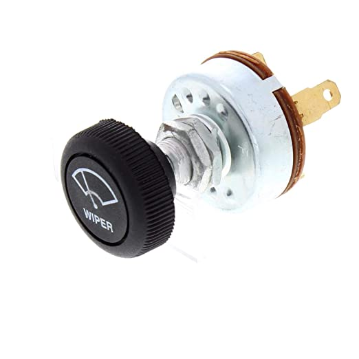 Universal Windshield Wiper Switch for Single Motor