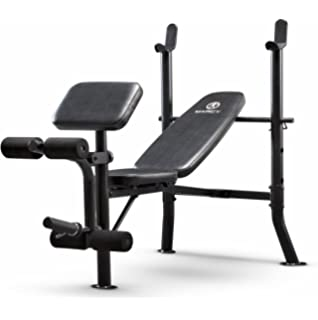 2a51050e5dd Marcy Standard Weight Bench Leg Developer Multifunctional Workout Station  Home Gym Weightlifting Strength Training