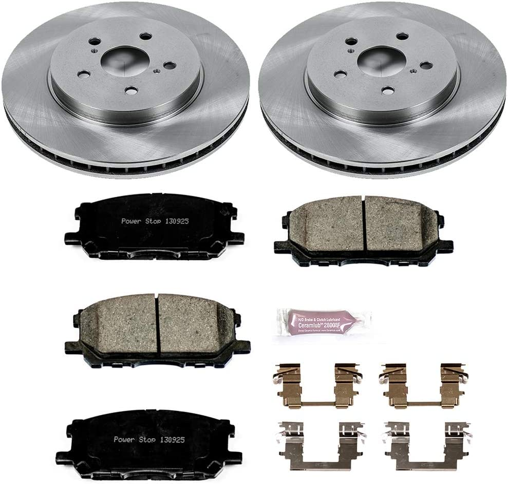 Autospecialty KOE196 1-Click OE Replacement Brake Kit